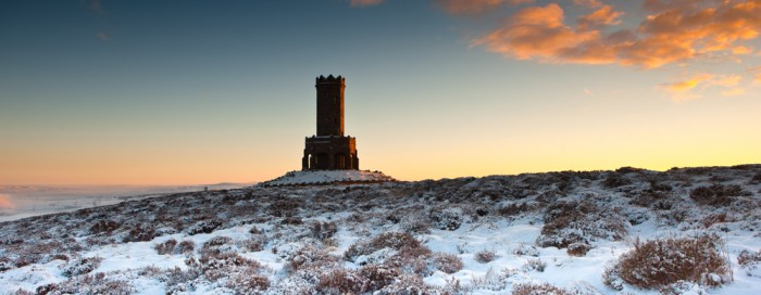 Darwen Tower at Dawn