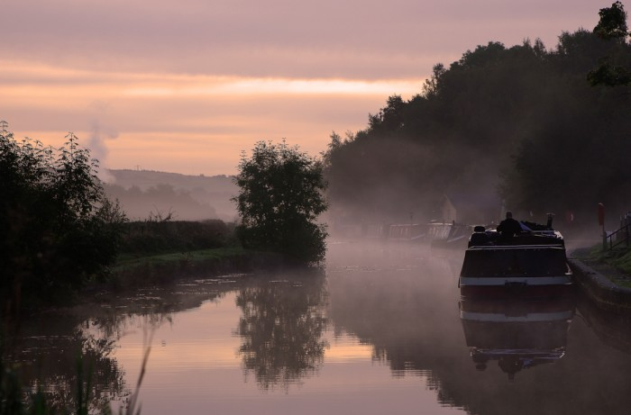 Early Morning Canal_