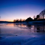 Frozen River Ribble