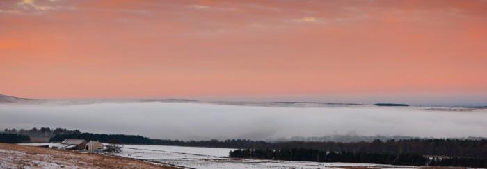 John Smiths Farm at Dawn