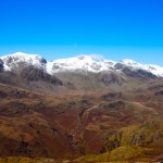 Scafell in Snow